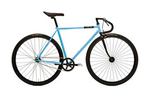 Creme Vinyl Solo singlespeed/fixed gear blue